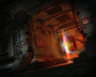 De Vervoerder, 3d CG Stock Afbeeldingen