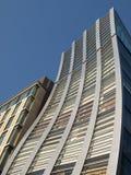 De vervormde bouw in Tokyo, Japan Royalty-vrije Stock Foto's