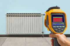 De Verwarmer van de opnameradiator met Infrared Royalty-vrije Stock Foto