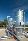De verwerkende industrie van het gas Royalty-vrije Stock Afbeeldingen