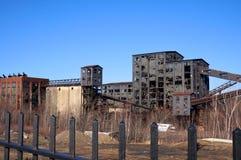 De Verwerkingsfabriek van de spooksteenkool Stock Afbeeldingen