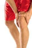 De verwonding van de knie Stock Foto