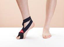 De verwonding van de voet (teen) royalty-vrije stock afbeeldingen