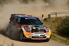 De Verzameling D'Italia Sardegna van WRC 2011 - ARAUJO Stock Foto