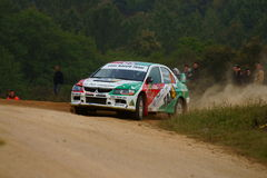 De Verzameling D'Italia Sardegna van WRC 2011 - ERDI Royalty-vrije Stock Foto's