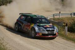 De Verzameling D'Italia Sardegna van WRC 2011 - HANNINEN Royalty-vrije Stock Afbeelding