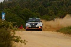 De Verzameling D'Italia Sardegna van WRC 2011 - HANNINEN Stock Fotografie