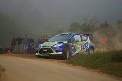 De Verzameling D'Italia Sardegna van WRC 2011 - KUIPERS Royalty-vrije Stock Afbeeldingen