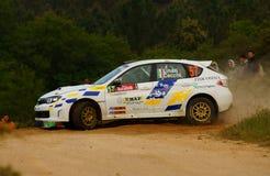 De Verzameling D'Italia Sardegna van WRC 2011 - LINARI Stock Afbeeldingen
