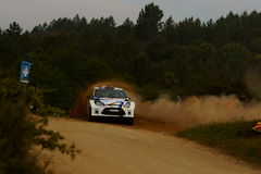 De Verzameling D'Italia Sardegna van WRC 2011 - NASSER Royalty-vrije Stock Afbeeldingen