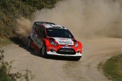 De Verzameling D'Italia Sardegna van WRC 2011 - NOVIKOV Royalty-vrije Stock Afbeelding