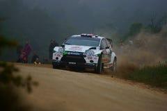 De Verzameling D'Italia Sardegna van WRC 2011 - OSTBERG Royalty-vrije Stock Afbeeldingen