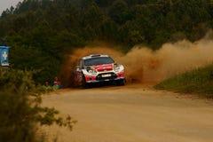 De Verzameling D'Italia Sardegna van WRC 2011 - PROKOP Royalty-vrije Stock Foto's