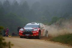 De Verzameling D'Italia Sardegna van WRC 2011 - SOLBERG Stock Fotografie