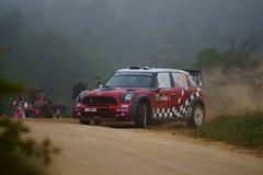 De Verzameling D'Italia Sardegna van WRC 2011 - SORDO Stock Fotografie
