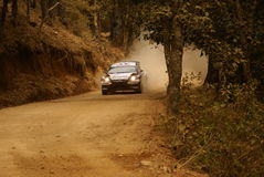De Verzameling Mexico 2010 Michal KOSCIUSZKO van de Corona WRC stock fotografie
