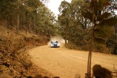 De Verzameling Mexico 2010 Nasser al-ATTIYAH van de Corona WRC stock afbeelding