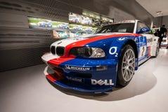 De Verzameling van BMW in het Museum van BMW Stock Foto's