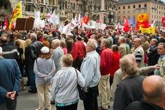 De Verzameling van de Dag van de arbeid in München Stock Fotografie