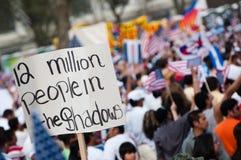 De Verzameling van de immigratie in Washington Stock Afbeeldingen