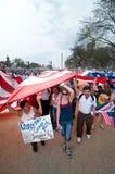 De Verzameling van de immigratie in Washington Stock Foto's