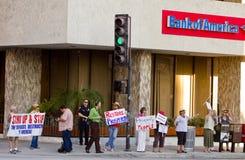 De Verzameling van de solidariteit tot steun van bezet Wall Street Stock Fotografie
