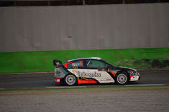 De verzamelingsauto van Ford Focus WRC in Monza royalty-vrije stock fotografie