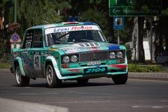 De verzamelingsraceauto van Lada VAZ 2106 Stock Foto