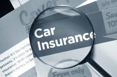 De verzekering van de auto Royalty-vrije Stock Foto's