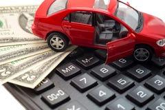 De Verzekering van de auto royalty-vrije stock afbeeldingen