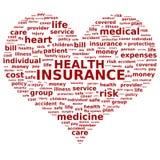De verzekering van de gezondheid. Stock Fotografie