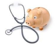 De Verzekering van de gezondheid Gezondheidszorg voor bejaarden Royalty-vrije Stock Afbeelding