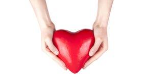 De verzekering van de gezondheid of liefdeconcept Stock Foto