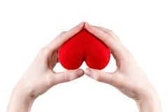 De verzekering van de gezondheid of liefdeconcept Royalty-vrije Stock Fotografie