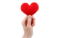 De verzekering van de gezondheid of liefdeconcept Royalty-vrije Stock Foto