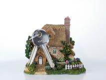 De verzekering van het huis stock afbeelding