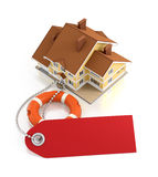 De verzekering van het huis Royalty-vrije Stock Foto