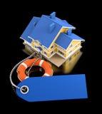 De verzekering van het huis Stock Foto