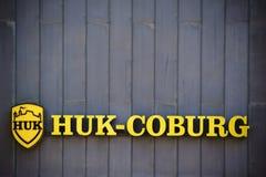 De verzekering van HUK Cobourg Stock Foto
