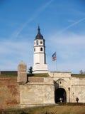 De Vesting Belgrado van Kalemegdan Stock Afbeelding