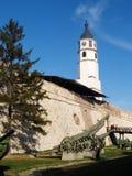 De Vesting Belgrado van Kalemegdan Stock Foto's
