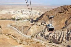 De Vesting Israël van Masada Royalty-vrije Stock Afbeeldingen