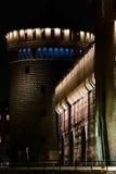 De vesting Milaan van het Kasteel van Sforza Stock Fotografie