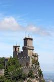 De vesting San Marino van Guaita van Roccadella Royalty-vrije Stock Fotografie