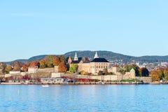 De Vesting van Akershus stock fotografie