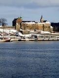De Vesting van Akershus, Oslo stock afbeeldingen