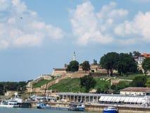 De vesting van Belgrado royalty-vrije stock foto's