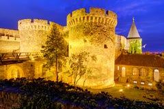 De vesting van Belgrado stock afbeelding