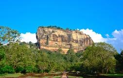 De Vesting van de Rots van Sigiriya, Sri Lanka Royalty-vrije Stock Foto