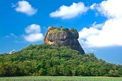 De Vesting van de Rots van Sigiriya, Sri Lanka Stock Afbeeldingen